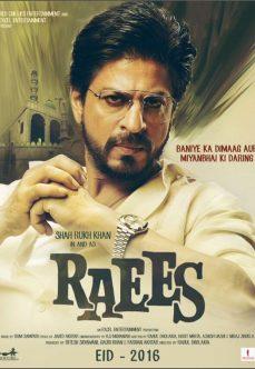 Raees 2017 Shah Rukh Khan